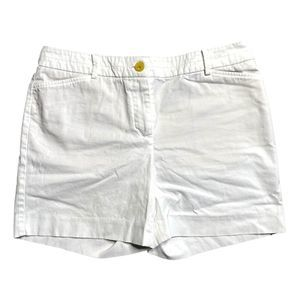 Talbots 'The Perfect Short' White Shorts 4